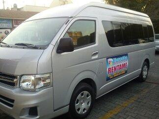 renta de camionetas toyota o nissan para 15 y 20 pasajeros