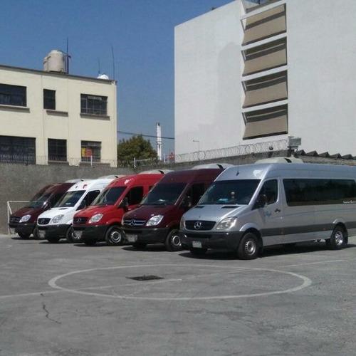 renta de camionetas toyota  sprinter minibus y autobus