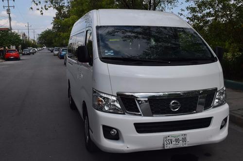 renta de camionetas van de 8,12 y 15 pasajeros