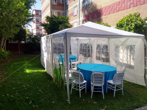 renta de carpas para eventos, terrazas, jardines, patios.