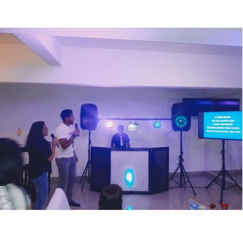renta de dj, karaoke, salas lounge, iluminación audio video