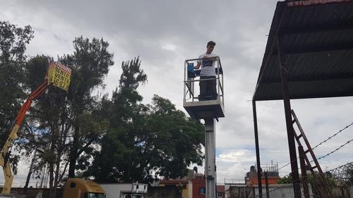 renta de elevador de personas genie gr12 año 2013