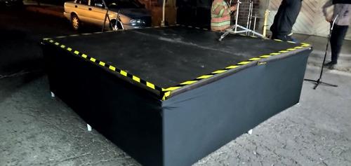 renta de escenario (templete, entarimado, audio, backline)