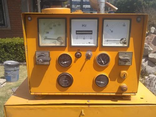 renta. de generador eléctrico 60 kw