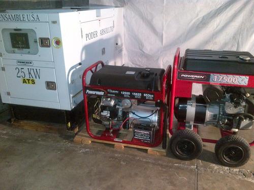 renta de generadores plantas de luz 57635587