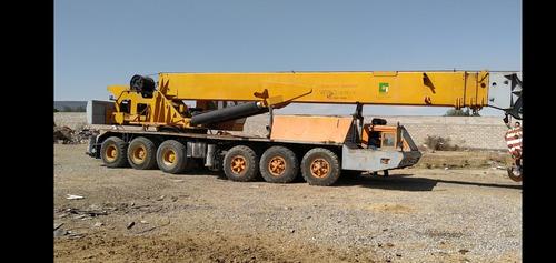 renta de grua cap. 80 tons