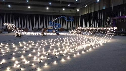 renta de iluminación para eventos