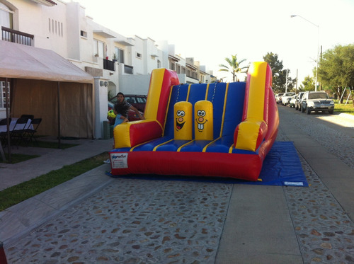 renta de inflables brincolines, escaladora $ 600