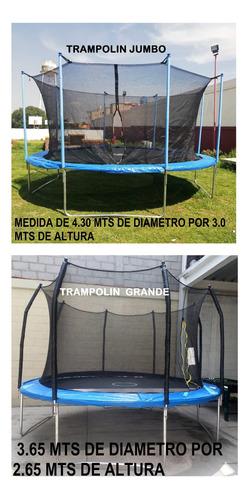 renta de inflables trampolines futbolitos