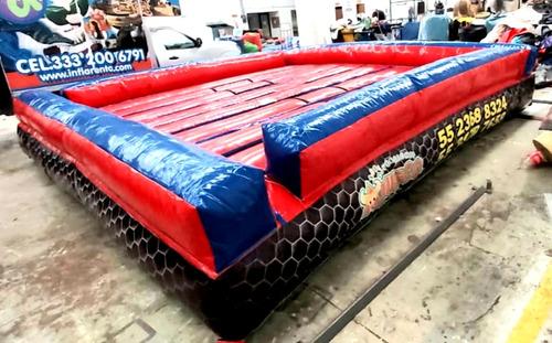 renta de juego inflable gladiadores