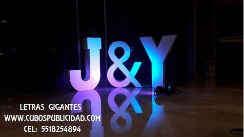 renta de letras gigantes para todo tipo de eventos,mesa novi