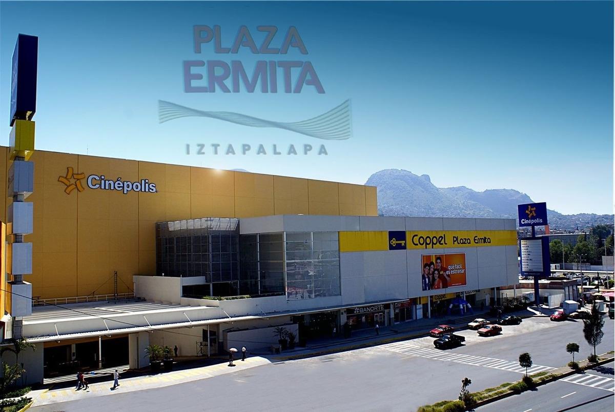 renta de locales comerciales y kioscos en plaza ermita