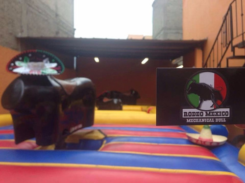 renta de los mejores toros mecánicos y juegos inflables cdmx