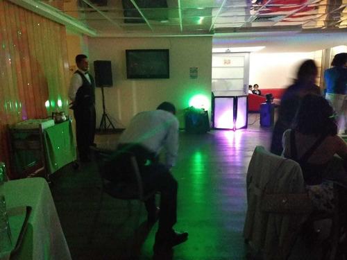 renta de luz y sonido para eventos dj versátil