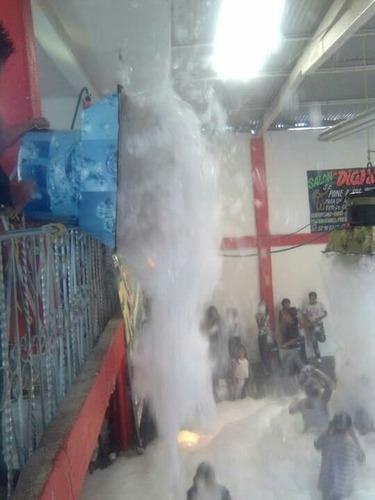 renta de maquinas de espuma