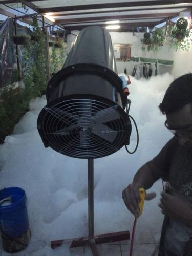 renta de maquinas de espuma gea