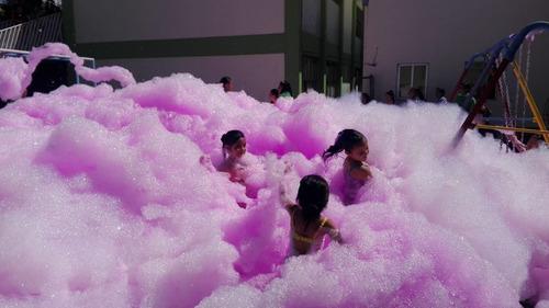 renta de maquinas de espuma/fiestas de espuma