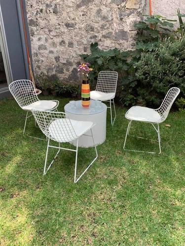 renta de mesas, sillas , periqueras y salas lounge, vintage