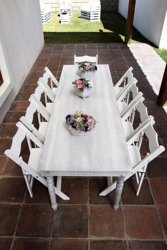 renta de mesas , sillas y salas vintage