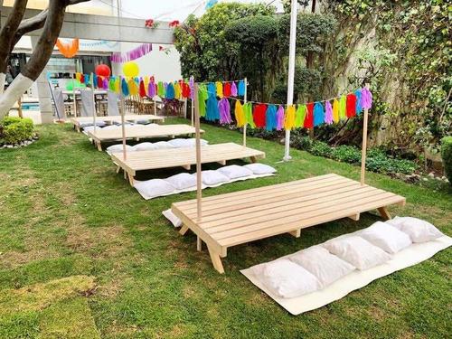 renta de mesas tipo picnic