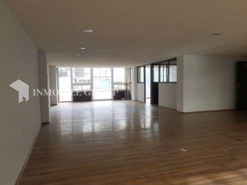 renta de oficina, 174 m2, acondicionado, anzures, ciudad de méxico.