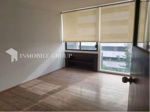renta de oficina, 174 m2 en colonia anzures, ciudad de méxico.