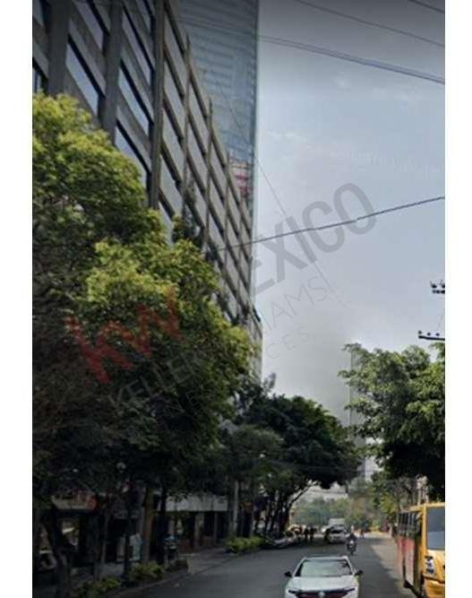 renta de oficina 174m $53,940 en leibnitz cerca de torre mayor, reforma, camino real polanco, dpvo chapultepec