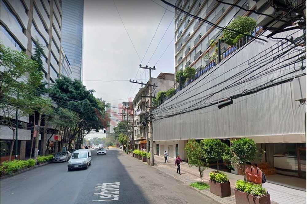 renta de oficina 185m $66,600 en leibnitz cerca de torre mayor, reforma, camino real polanco, dpvo chapultepec