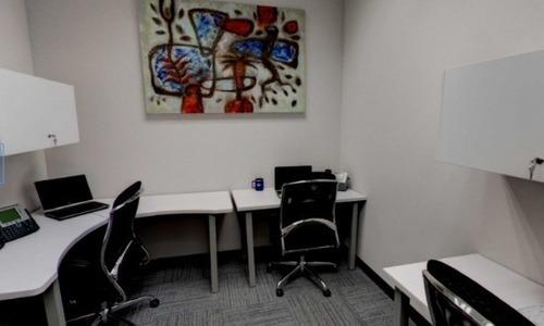 renta de oficina amueblada y equipada en legaria para 4 personas.