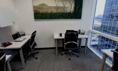 renta de oficina amueblada y equipada en legaria, para 8 a 10 personas.