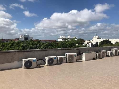 renta de oficina centrica frente a las palapas cancun