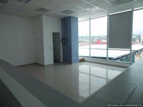 renta de oficina con vistas! dentro de edificio por galerías cuernavaca  clave or517