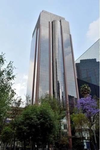 renta de oficinas acondicionadas con terraza en paseo de la reforma