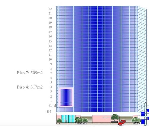 renta de oficinas comerciales, torre esmeralda iii