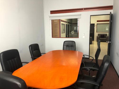 renta de oficinas (privados) y salones de usos múltiples