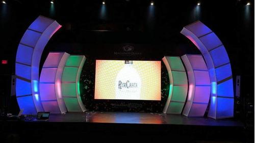 renta de pantalla gigante, pista iluminada, audio dj