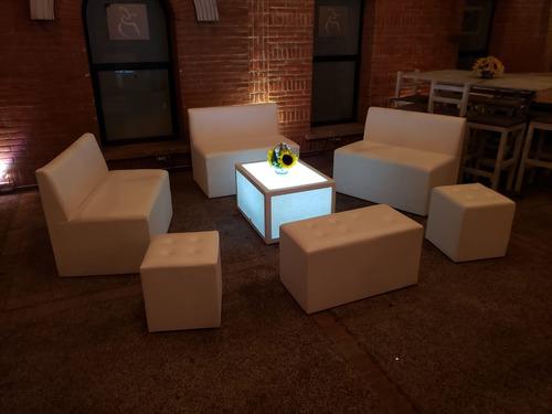 renta de periqueras y salas lounge.