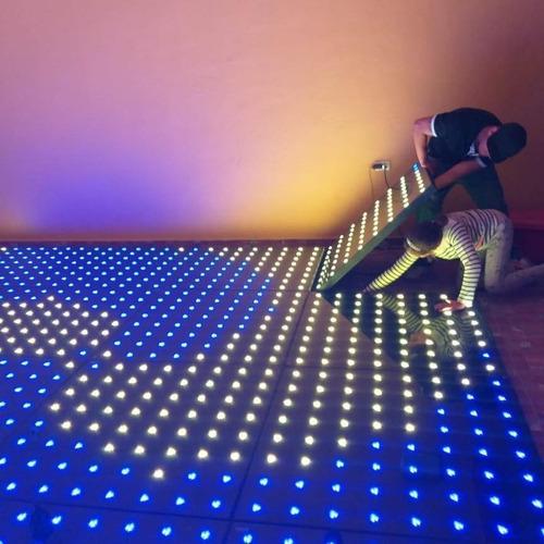 renta de pista de baile led