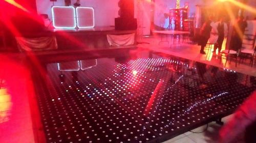 renta de pista de cristal led pixel
