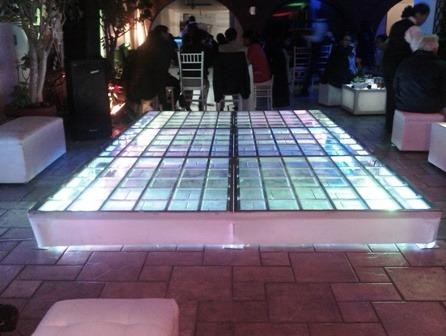 renta de pista iluminada karaoke dj salas lounge vintage