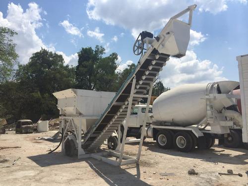 renta de planta de concreto y ollas revolvedoras
