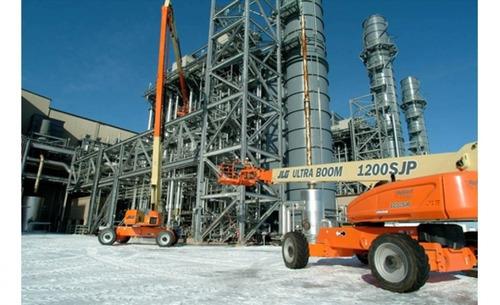 renta de plataforma telescópica de combustible 4x4