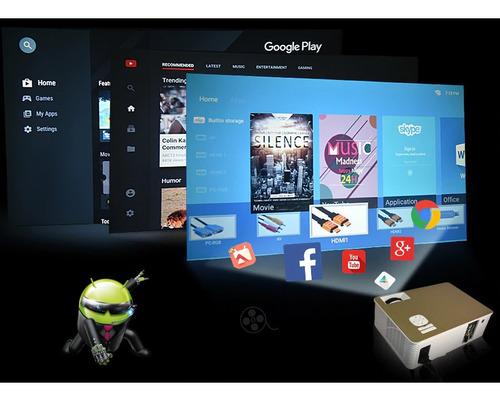 renta de proyector de 4000 lúm.android, wifi, full hd, bluet