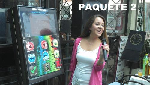 renta de rockola -karaoke a control remoto y anima tu fiesta