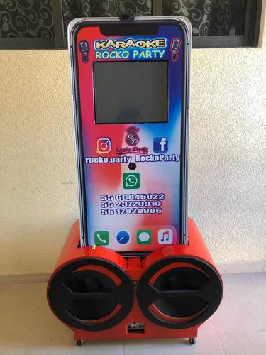 renta de rockola karaoke, con wifi cámara de humo y fotos