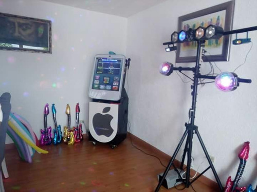 renta de rockolas con luces