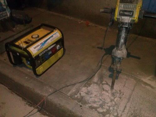 renta de rompedora de concreto