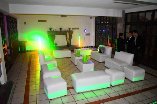 renta de salas lounge, servicio profesional.