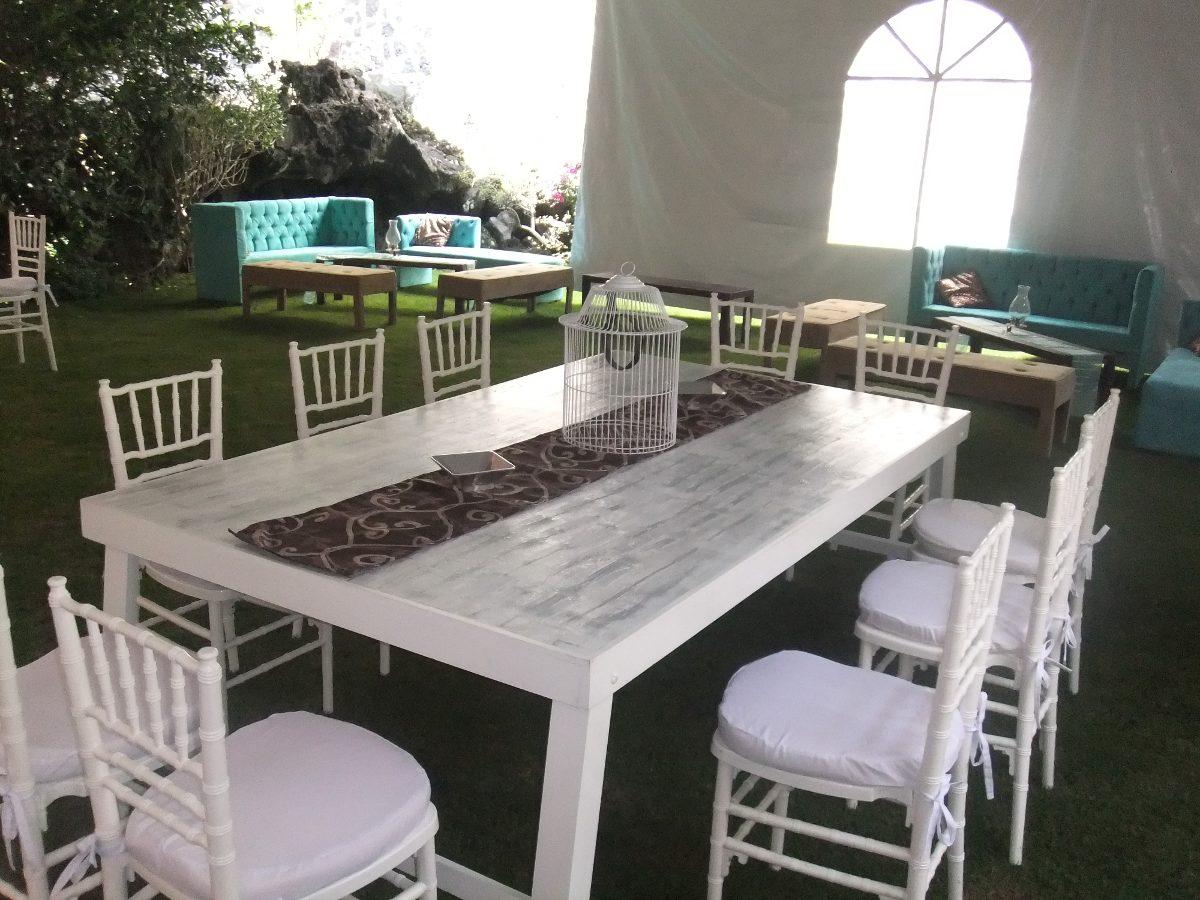 renta de salas vintage periqueras mesas vintage