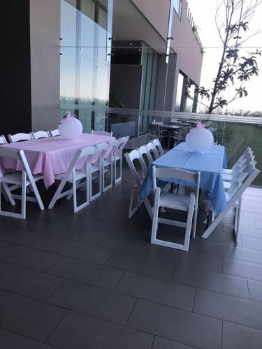 renta de silla y mesas vintage